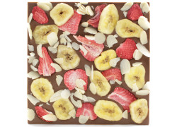 Tablette chocolat au lait - Banana Split