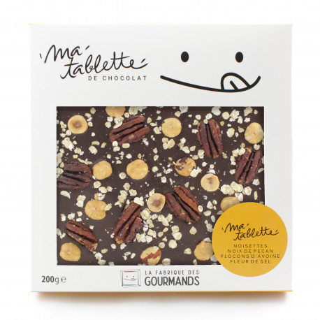 Tablette chocolat noir - La Muesli