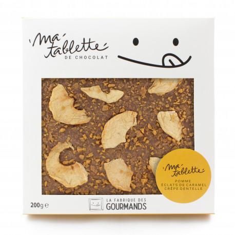 Tablette chocolat au lait - La bretonne
