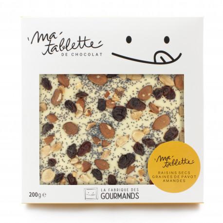 Amandes Raisins - Chocolat Blanc