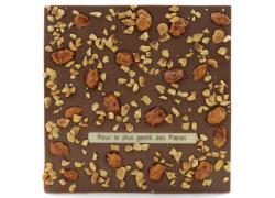 Tablette chocolat noir - Chouchous Noisettes