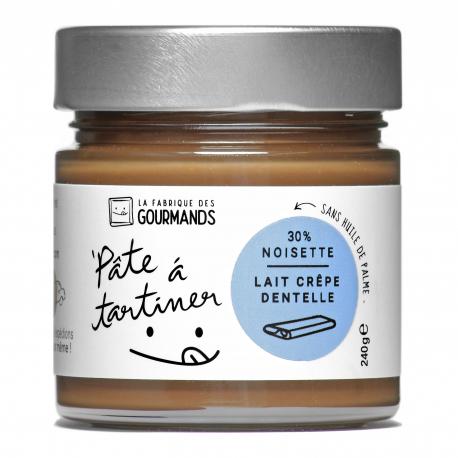 Pâte à tartiner - Lait Noisette & Crêpe dentelle