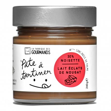 Pâte à tartiner - Lait Noisette & Nougat