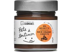 Pâte à tartiner - Noir Noisette & Oranges confites