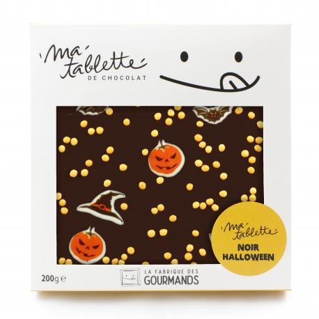 Tablette de chocolat Halloween