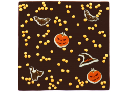 Tablette de chocolat Halloween
