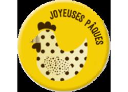 Joyeuses Pâques Poule