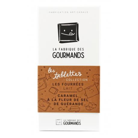 Chocolat au lait - Caramel au beurre salé