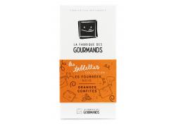 Tablette Fourrée 100G - Oranges confites